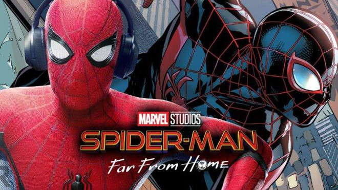 "poster phim ""Spider-Man: Far From Home"""