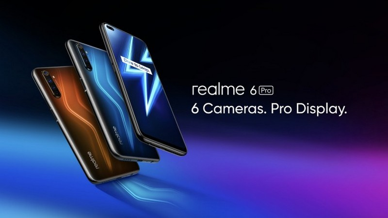Can canh Realme 6 Pro voi 6 camera chip S720G RAM 8